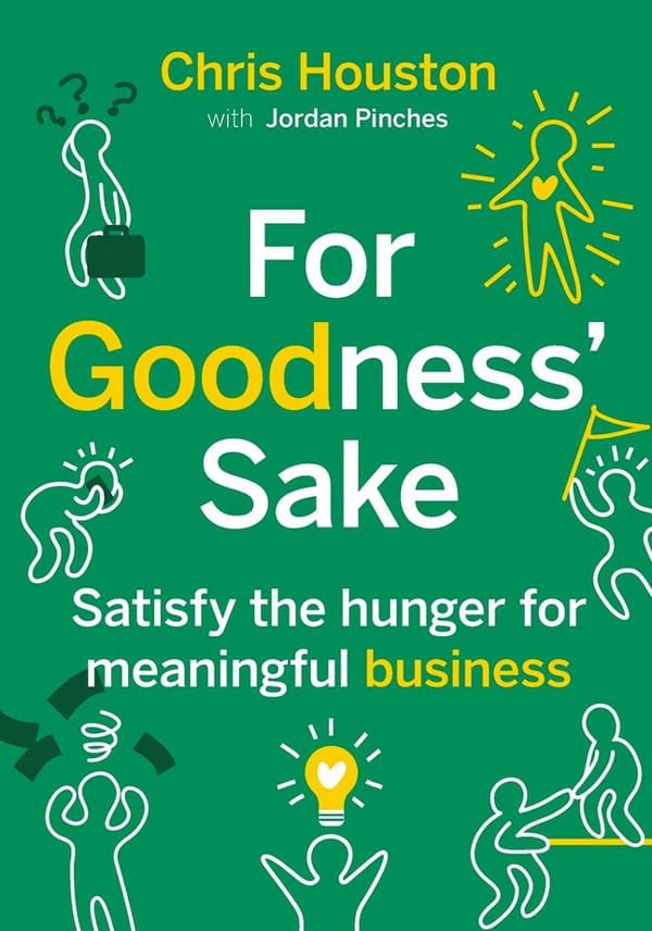 Book cover of For Goodness' Sake
